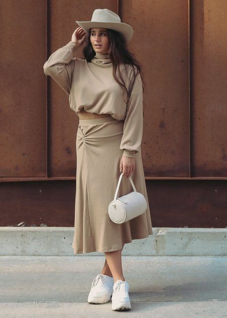 Sarah Liller Madrid Skirt - Camel