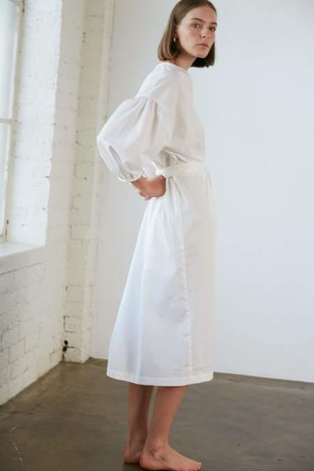General Sleep Agnes Cloud Organic Cotton Wrap DRESS - Cloud