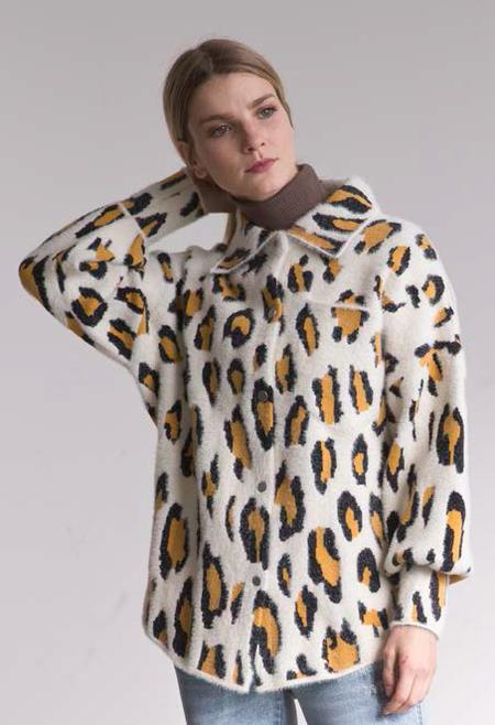 Six Crisp Days Barcin Jacket - Leopard
