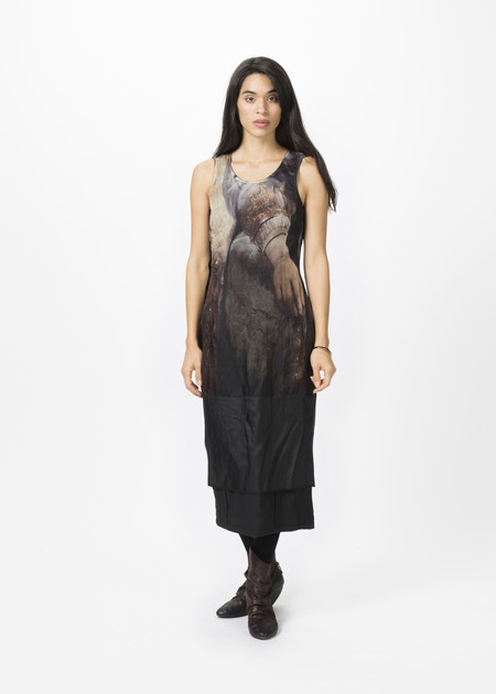 Rundholz Reversible Sleeveless Painting Dress
