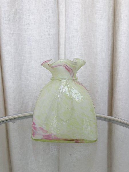 vintage Ri-Ri-Ku PASTEL CANDY BAG VASE
