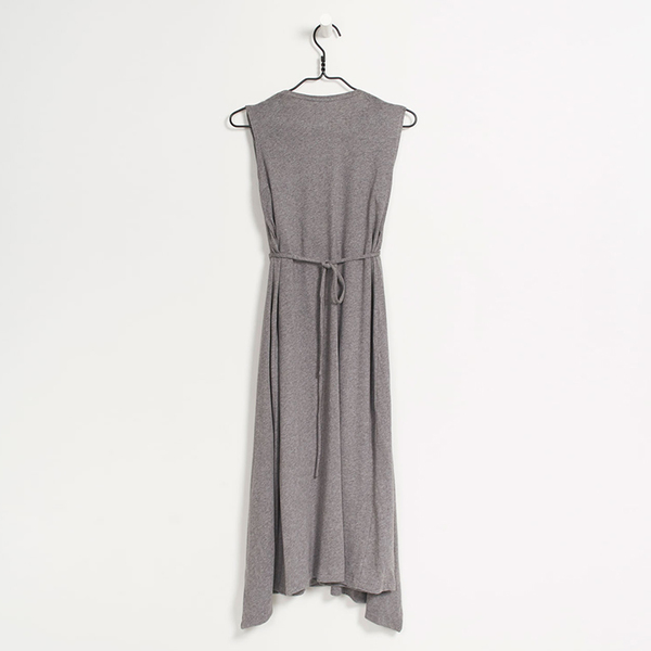 Kowtow Building Block envelope dress - grey marble