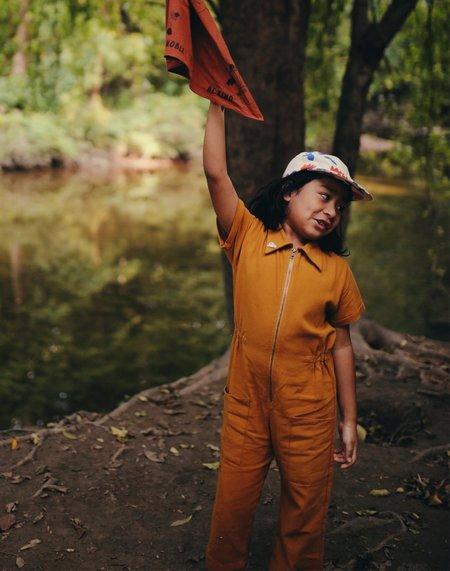 Kids Noble Organic Utility Suit - Turmeric