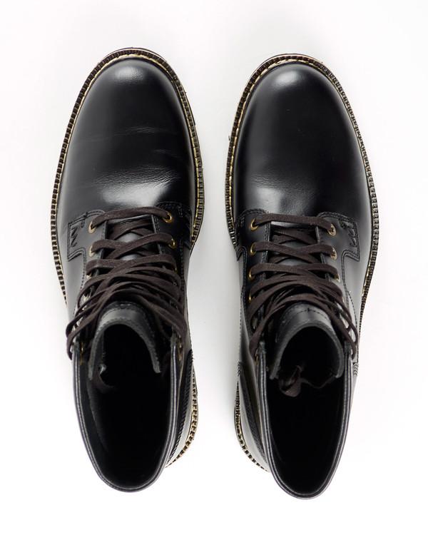 Men's Timberland Britton Hill Waterproof Plain Toe Boot Black
