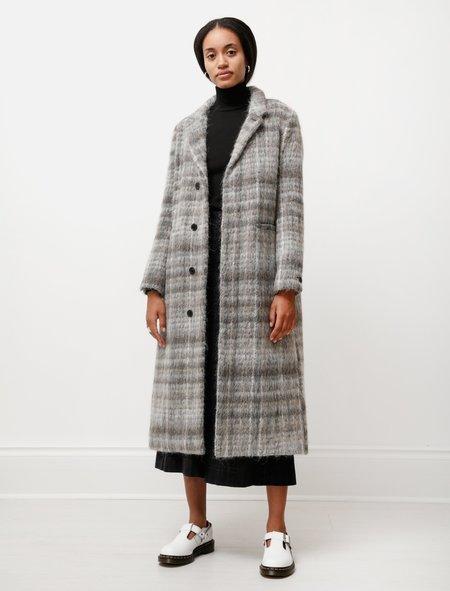 Stephan Schneider Coat - Lexikon Grey Fuzzy