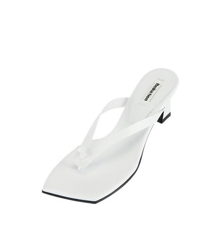Reike Nen Flip Flop Heel - White