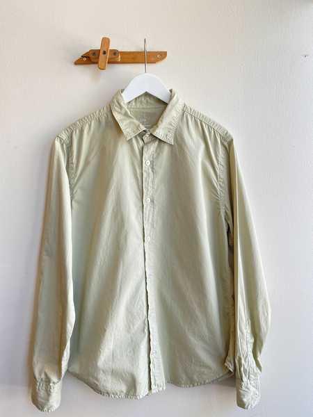 Save Khaki Poplin Easy Shirt - Pistachio