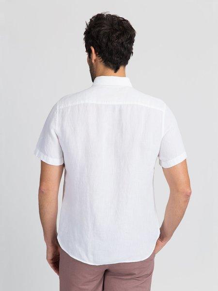 O.N.S Linen Irving Shirt - White