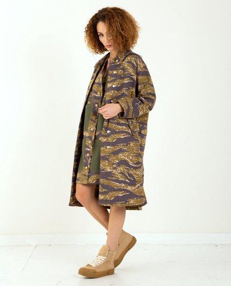 W'Menswear Nam Coat - Camo