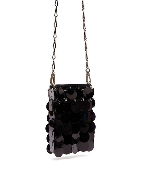 Paco Rabanne Shoulder Bag - Black