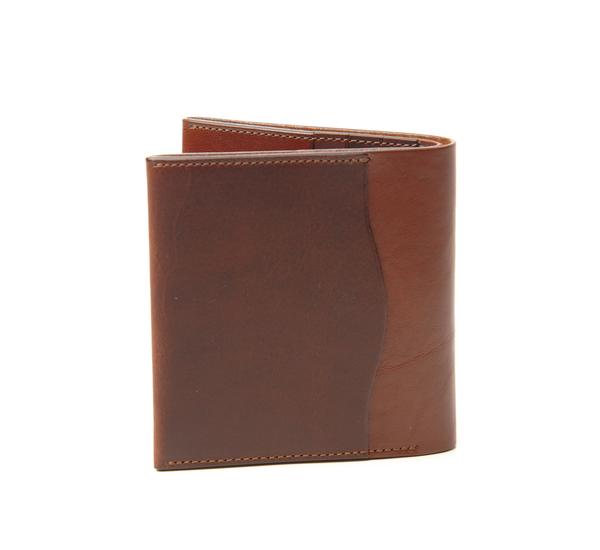 Anchor Bridge Red Brown Ab Billfold Wallet