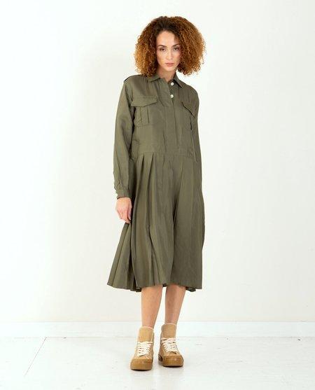 W'Menswear Thao Dress - Green