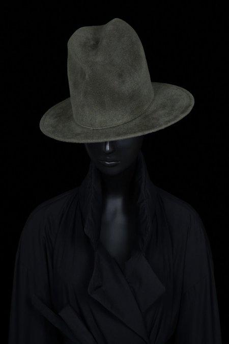 Esenshel Yoko Oval Brim Hat - Olive