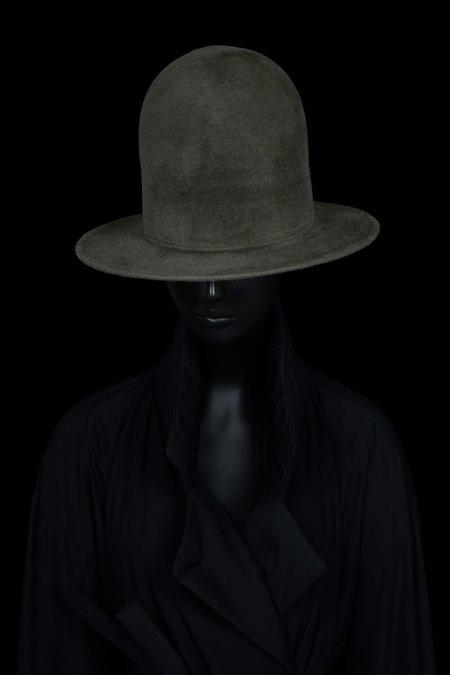 Esenshel DOME OVERSIZED ROUND BRIM HAT - OLIVE
