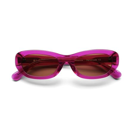 Sun Buddies Miuccia Sunglasses - Magenta