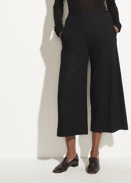 VINCE Cozy Wide Leg Culotte - Black