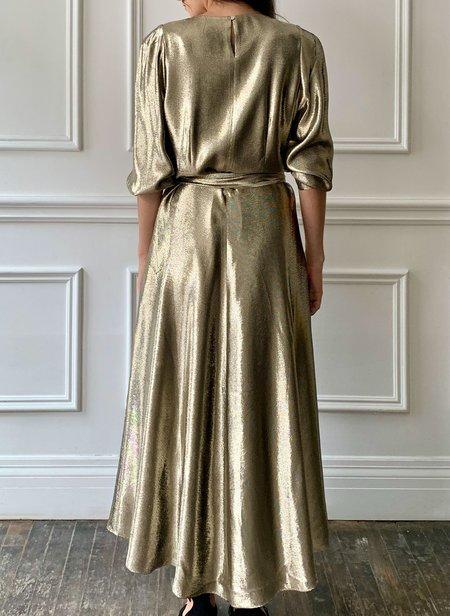 INDRESS Shiny Dress - Gold