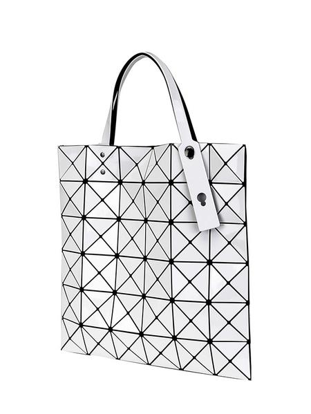 Bao Bao Issey Miyake Lucent Bag - White