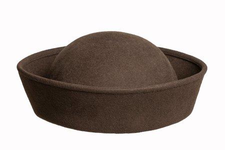 Clyde Wool Crown Hat - Earth