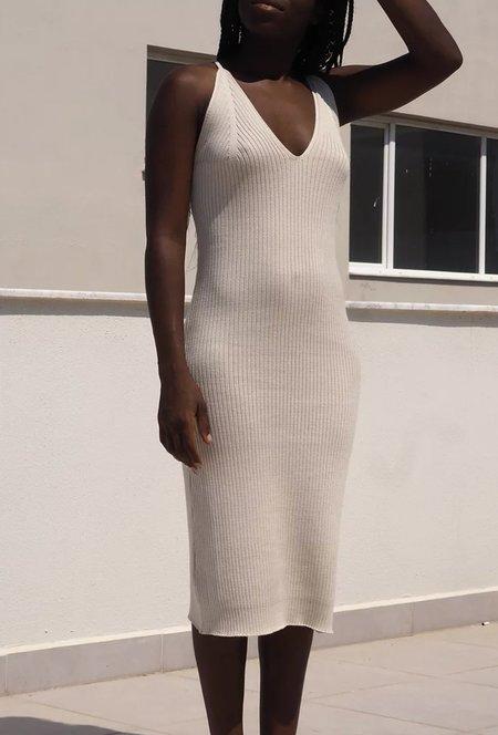 By Signe Damla Knit Dress - Ecru