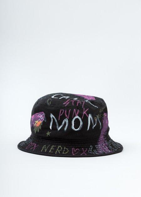 Guernika Bucket Hat - Black Paint