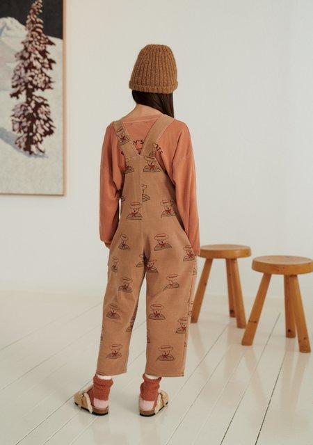Kids Weekend House Gondolier Kid's Overalls - Camel