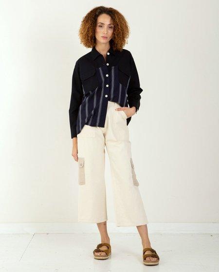 W'Menswear Rockpool Pant - Off White