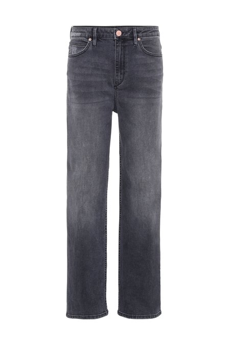 High Waisted Straight Leg Jeans - 2NDDAY RAVEN
