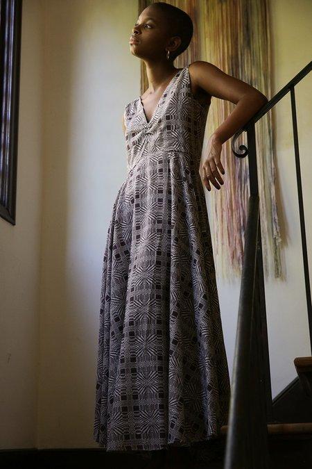 Erica Tanov birch dress - edgar allan poe