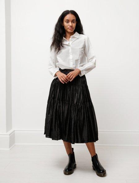 Casey Casey Womens Oopaloo Silk Skirt - Black