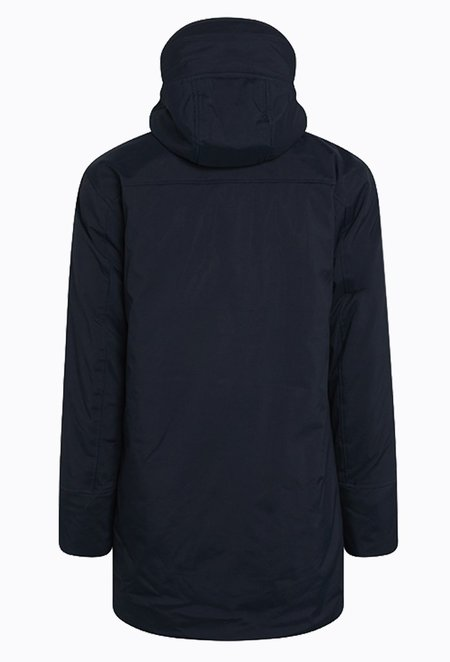 Knowledge Cotton CLIMATE Shell Jacket - Total Eclipse