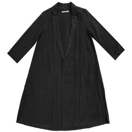 Ali Golden Notch Jacket - Black