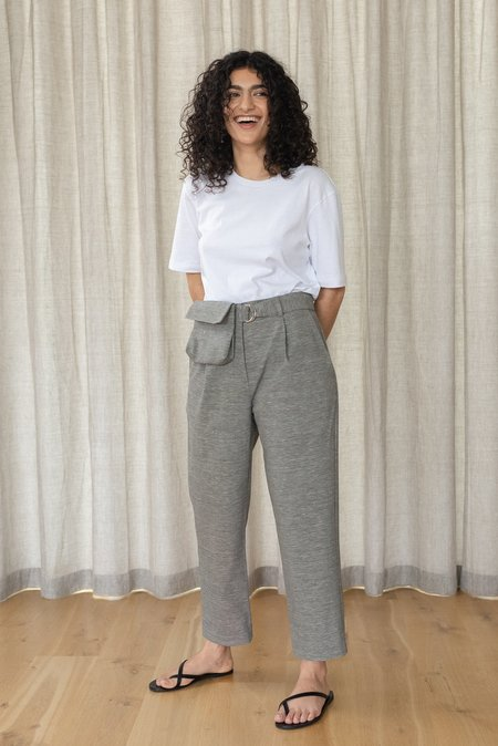 LOCLAIRE Bennetts Pant - Charcoal