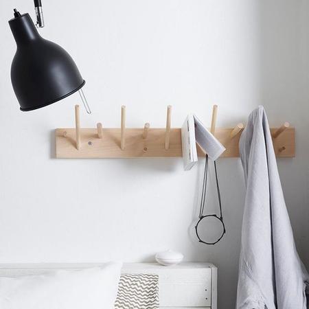 Iris Hantverk Multihanger Wall Hook Birch - Beige