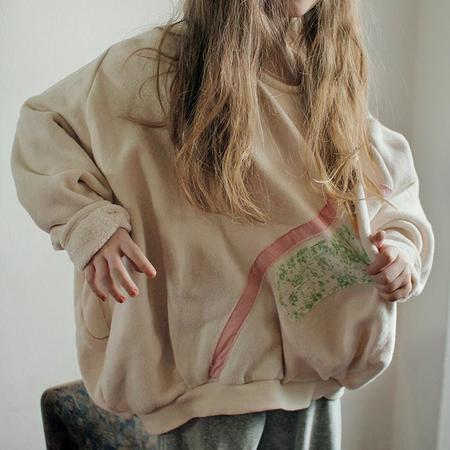 KIDS Tambere Child Basel Oversized Patches Sweatshirt