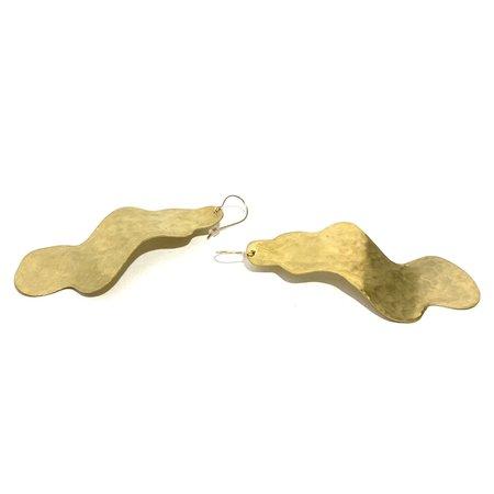 Enarmoured Bay Earrings - Brass