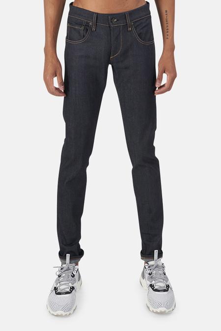 Rag & Bone Stretch Selvedge Jeans - Raw Blue