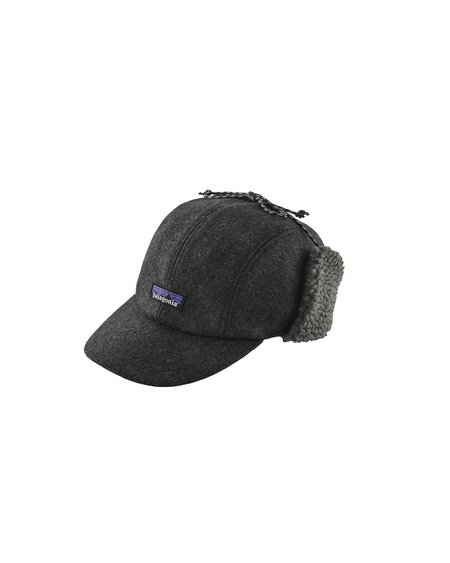Patagonia Gorra Recycled Wool Ear Flap Cap - Forge Grey