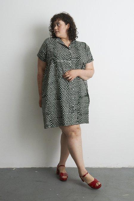 Osei-Duro Bata Dress - Bullfrog