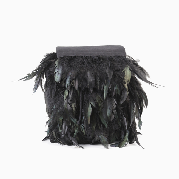 Andorine Feather Backpack