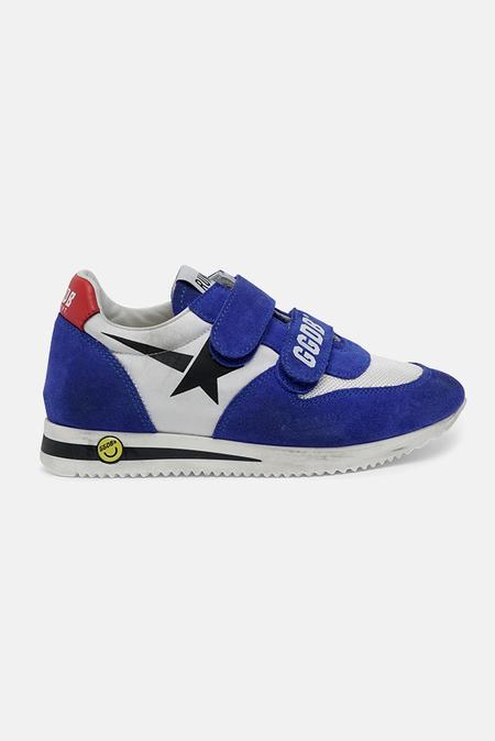kids Golden Goose Toddler Running Sneaker Shoes - Serigraph Star/Bluette