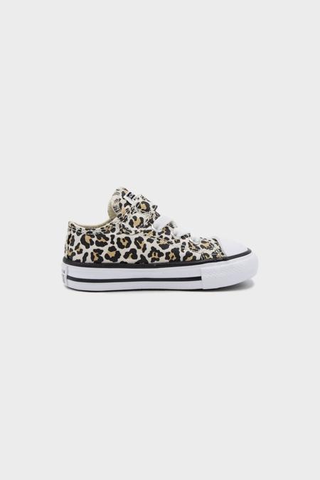 kids Converse All Stars OX Sneaker - Black Driftwood