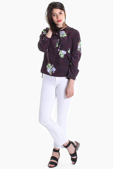 AG Jeans Jodi Crop in White