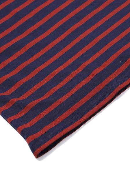 Saint James MINQUIERS MODERN LONG SLEEVE - MARINE/RO