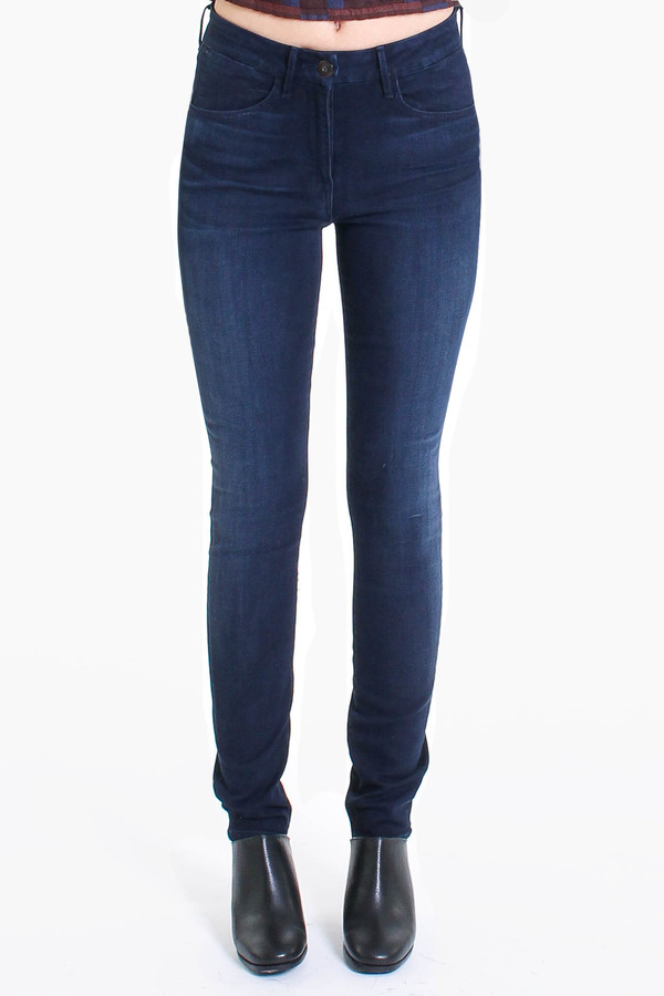 3x1 Channel seam high-rise skinny jean in charlie