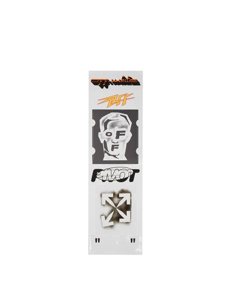 Off-White Masked Face Sticker Set