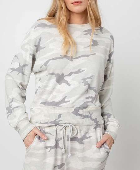 Rails Ramona Top - Stone Camo