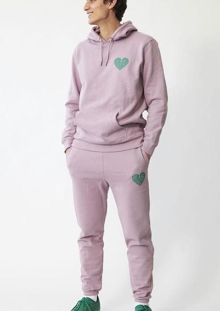 UNISEX 123 Ciao Sweatpants - Lilac/Teal