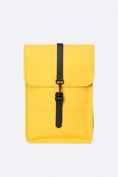 unisex Rains backpack mini - yellow