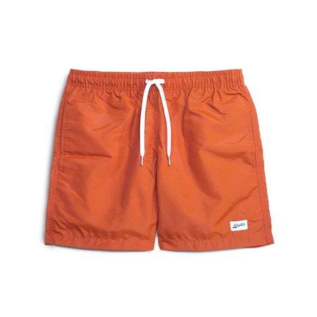 Bather solid swim trunk - Orange
